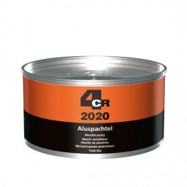 4CR Mastic de remplissage alu gris argent 1kg