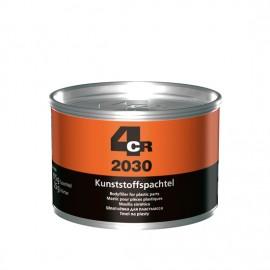 4CR Mastic pour matières plastiques gris foncé 1kg