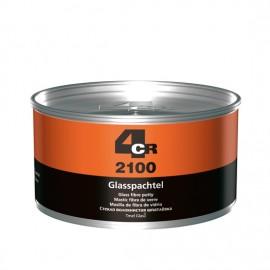 4CR Mastic fibre de verre vert 1kg