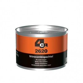 4CR Mastic de finition nitro-cellulosique gris 900g