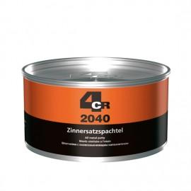 4CR Zinnersatzspachtel Silbergrau metallic 2kg