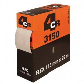 4CR Rouleau FLEX 115mm x 25m P600