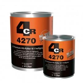 4CR Apprêt premium HS 2K 4:1 gris clair 1L