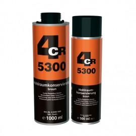 4CR Corps creux brun 1L cartouche
