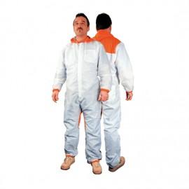 4CR Combinaison de peintre Coolfresh blanc XL