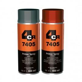 4CR Primaire professionnel en spray rouge-brun 400ml