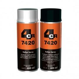 4CR Rallye Spray Schwarz glänzend 400ml