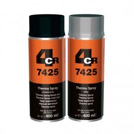 4CR Peinture haute température noir 400ml