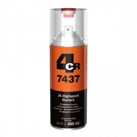 4CR Vernis 2K Highspeed spray incolore 400ml
