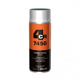 4CR Rénovateur plastique spray incolore 400ml