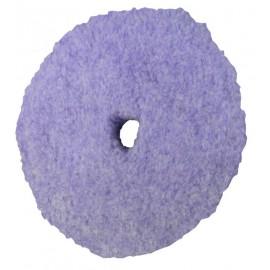Peau de mouton 100% laine tressée PACE mauve Ø77mm - lot de 4 pièces