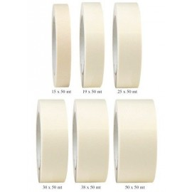 Bande à masquer MSK 6280 (100°C) 38mmx50m - carton de 24 pièces - par 3 cartons
