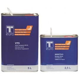 Vernis T-euro 5L rapide + durcisseur 2.5L OFFERT