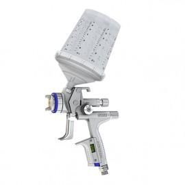 Pistolet SATAjet® 5000 B RP avec buse 1.3cc et godet réutilisable QCC 600ml sans raccord tournant