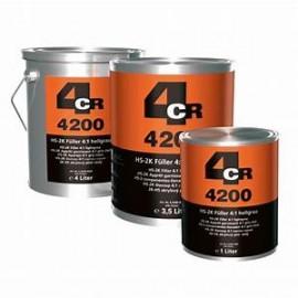 4CR Apprêt HS 2K 4:1 gris clair 3.5L