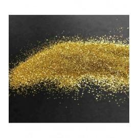 Metallischen Polyester Glitter 30 gr - Gelb