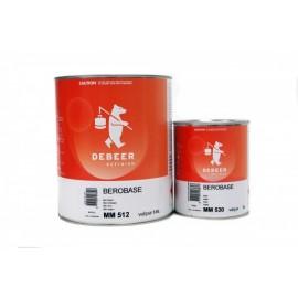 Peinture De Beer® Berobase MM501 blanc transparent 1L