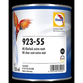 Vernis Glasurit® 923-55 MS extra mat 750ml