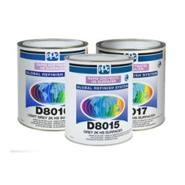 Apprêt PPG® Greymatic D8015 rapide gris 3L