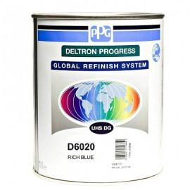 Peinture Deltron Progress UHS DG D6020 bleu intense 1L