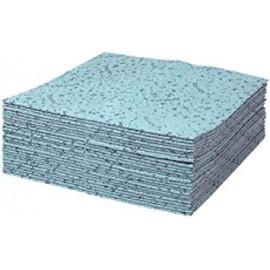 4CR Chiffons de nettoyage Multi bleu 40 x 42 cm / 12x35pces