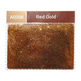 Paillettes polyester métalisées 30 gr - Red gold