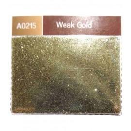 Paillettes polyester métalisées 30 gr - Weak Gold