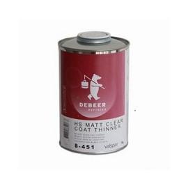 HS Matt Clear coat thinner De Beer® 1lt.