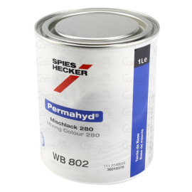 WB 802 Peinture Permahyd® 280 noir profond 1L