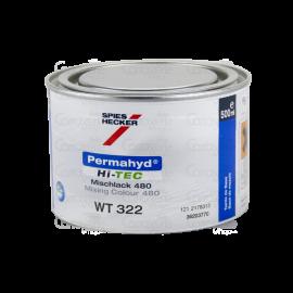 SH322 Peinture Permahyd® Hi-TEC blanc micro 0.5L