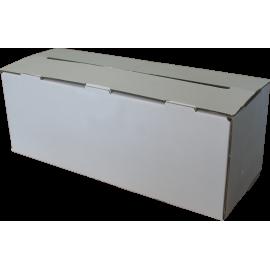 Elektrostatische Maskenfolie 4x100m / 9-10µ Gefaltet und in Kartonschachtel abgepackt